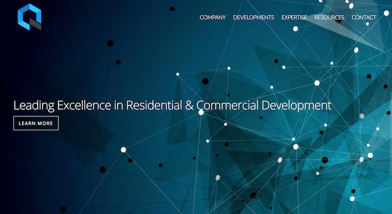 多伦多住宅开发Quantum 多伦多网站制作 北美网站设计 Hilborn Digital 网站开发